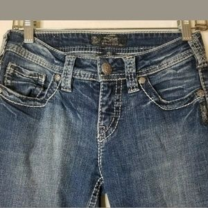 Silver Jean's Aiko Medium Wash Bootcut Jeans 26
